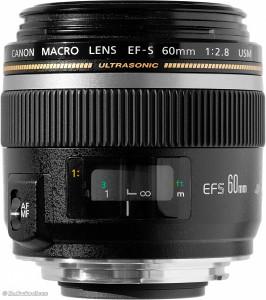 Canon EFs 60mm f2.8 macro