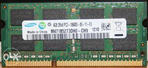ram za laptop 4gb ddr3 1333Mhz
