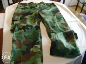 Pantalone maskirne u M93 kamuflaži,konf.60