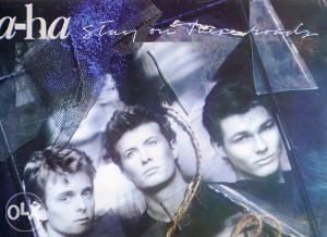 A-HA-STAY ON THESE ROADS lp
