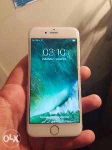 Iphone 6 silver 64gb extra stanje!..nov!!!!
