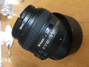 Nikkor Lens AF-S 50mm f/ 1.4 G Nikon