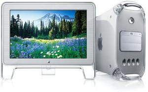 "Apple power mac G4 apple lcd monitor 17"""