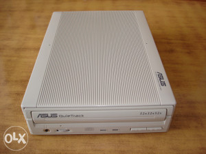 """ASUS""CRW5232AS-U EXTERNI PRŽAČ I ČITAČ CD"