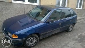 Opel Astra tek registrovana