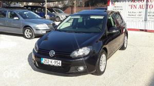 VW GOLF VI 6 2,0 TDI 81KW 2009G ŠIBER REGISTR.HUDINY