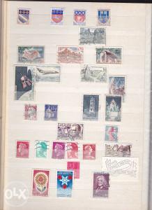 Poštanske marke, lot Francuska