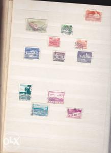 Poštanske marke, lot Mađarska i Bugarska