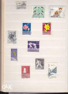 Poštanske marke, lot Poljska (2)