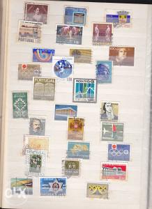 Poštanske marke, lot Portugal (3)
