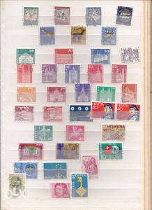 Poštanske marke, lot Švicarska