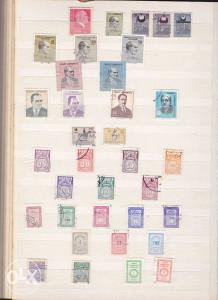 Poštanske marke, lot Turska (1)