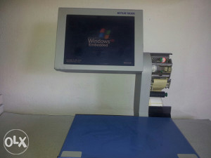 Vaga trgovačka digitalna sa 2bar kod štampača