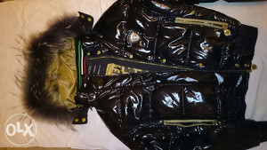 NICKELSON zensak jakna original,pravo krzno