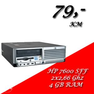 HP 7600 SFF 2X2,8 GHz/ 4 GB RAM