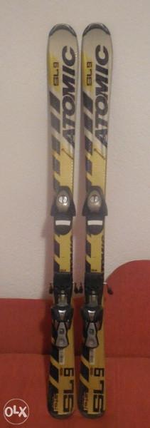 Skije Atomic SL9  L-125cm