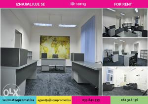 Kancelarijski poslovni prostor najam Ferhadija 101113