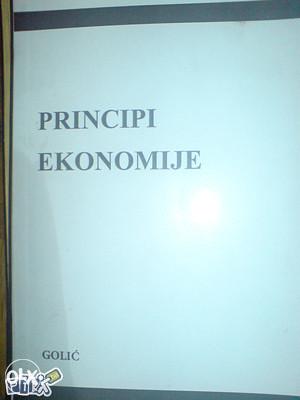 Principi EKONOMIJE - Bajro GOLIĆ