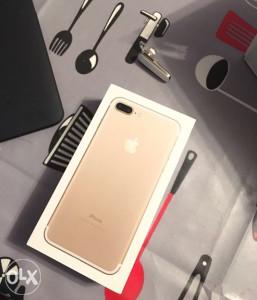 Iphone 7 plus 32GB Gold Vakum