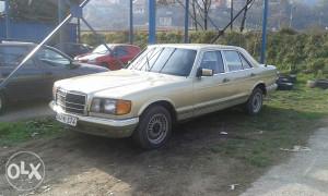 Mercedes 126 s300 d genser