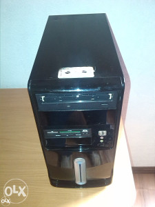 Pc intel core 2 duo,2 gb ram ddr3,250 gb hdd,win 7