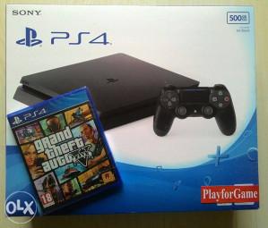 PlayStation 4 (PS4) 500GB - SLIM + G.T.A. V