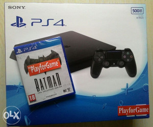 PlayStation4(PS4)500GB SLIM+BATMAN...