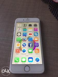 Iphone 6 16gb silver sim fre