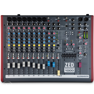 Allen&Heath ZED POWER 1000 ak.mixer 2 x 500 w sa torbom