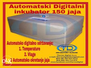 """Automatski inkubator 150 jaja """"Thermo Digital  d.o.o."""""""