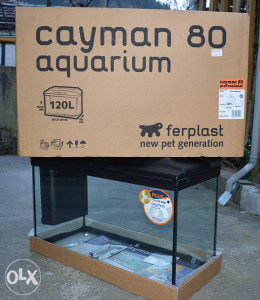 Akvarijum Cayman 120 lit.