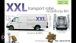 Kombi prevoz 061 549 649ado maxi kombi do 2.5t