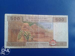 Novčanice CENTRALNA AFRIKA--KAMERUN