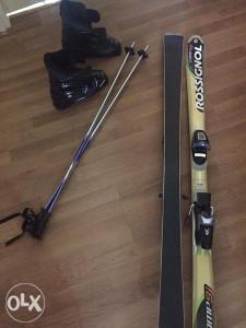 Set skije,štapovi,pancerice - Rossignol