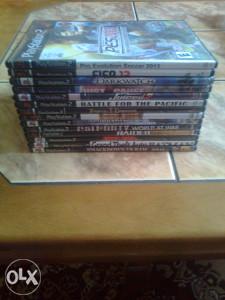 Igrice za playstation 2 + PC igrice + Filmovi 80 cd-ova
