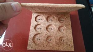 Kutija za novac Francuski franak pluto