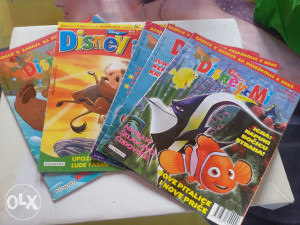 Časopis Disney i Mi 5 komada 5 km