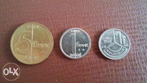 Stare kovanice Belgija