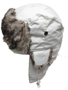 Zimska kapa subara bijela