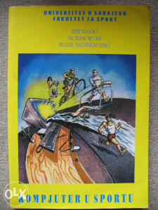 Knjiga Kompjuter u sportu Rađo, Hadžikadunić, Wolf