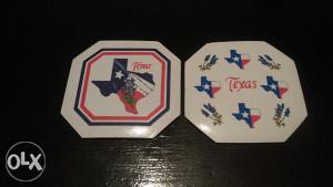 Dva podmetača gumena TEXAS