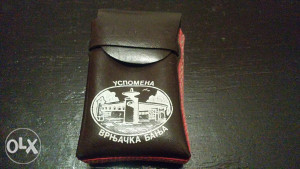 Stara tabakera za cigarete Vrnjačka banja