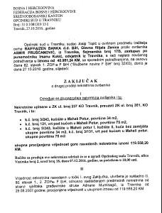 STAMBENO-POSLOVNI OBJEKAT U TRAVNIKU-SUDSKA PRODAJA-