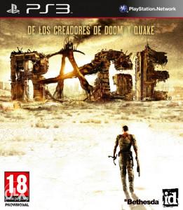 Rage (PS3 - Playstation 3) Engleski