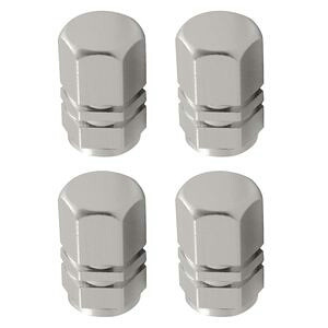 Kapice za felge auto gume motor CHROME sive