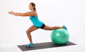 Pilates lopta 55cm Fitness lopte za trening istezanje