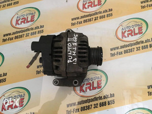 Alternator Generator Punto 2 1.3 Multi Jet 05 KRLE 390