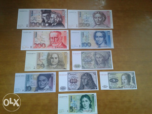 Novčanice NJEMAČKA --UNC
