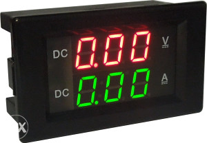 AC10A AC60-300V Dupli Displej Volt, Protok struje LED