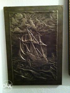 Brod i more
